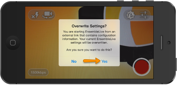 overwrite settings